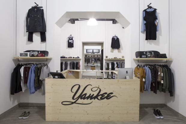 Inside Yankee Shop
