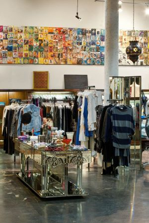 Inside the American Rag Cie store in Los Angeles