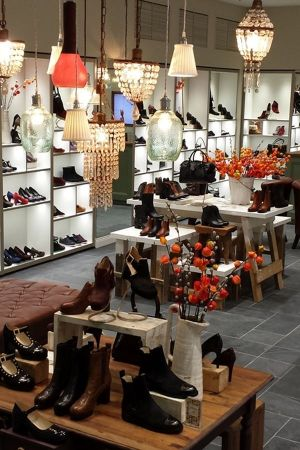 Inside the new Clarks store