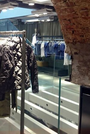 Inside the new G-Star store in Florence