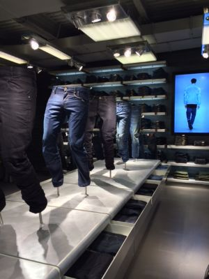 Inside the new G-star Milan flagship