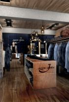 Inside the new Jacob Cohën store in Courchevel