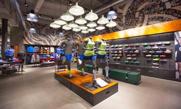 Inside the new Nike Store Via Torino