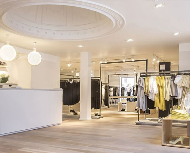 Interior of the store, where the full SS'14 collection is available