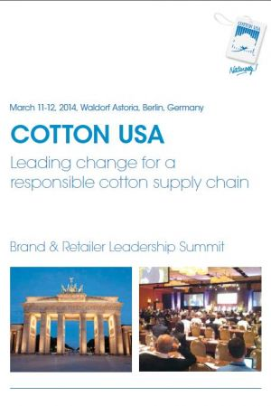 Invitation to the Cotton USA Summit in Berlin