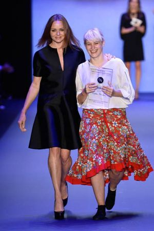 Ioana Ciolacu Miron (right) and Stella McCartney