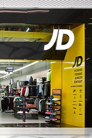 JD Sports retail space