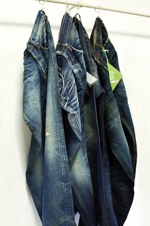 Jeans treated with Martelli D.ECO.R platform