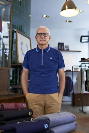 John Flynn, Managing Director Fred Perry