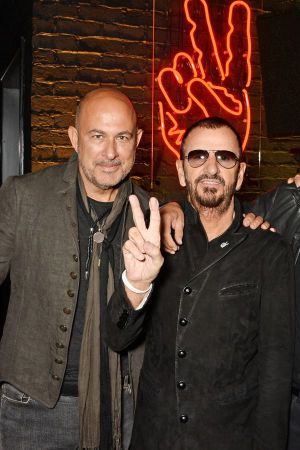 John Varvatos with Ringo Starr at the opening