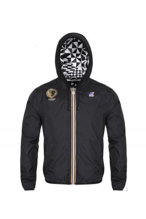 K-Way and Versus Versace collaborated on jackets.