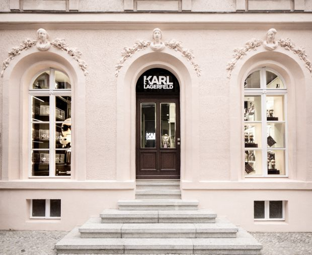 Karl Lagerfeld's new store in Berlin