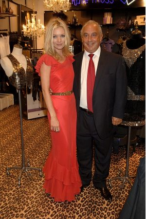 Kate Moss and Sir Philip Green 2007