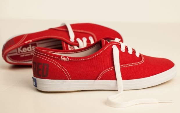 Ked's limited edition red Champions style by Taylor Swift