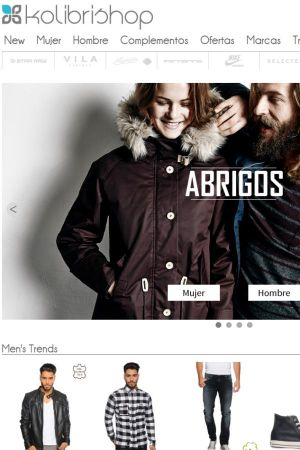 Kolibrishop.es screenshot