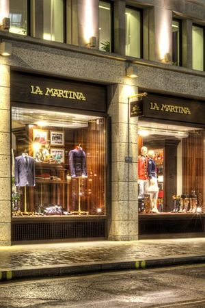 La Martina´s flagship store in London