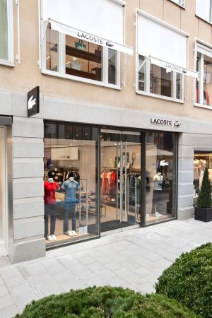 Lacoste´s new boutique on Theatiner Strasse 33, Munich
