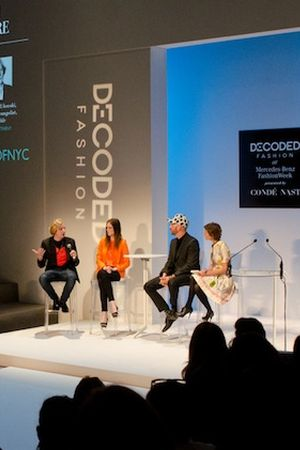 Last year's speakers at Decoded Fashion