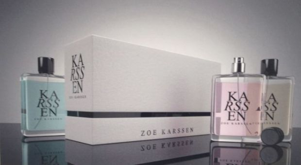 Launching for the holiday season: Zoe Karssen scents