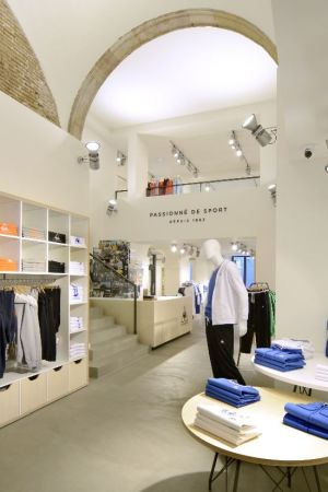 Le Coq Sportif flagship in Barcelona