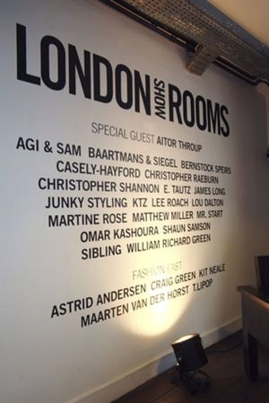 London Show Rooms