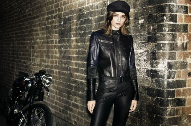 Look from the women's Barbour x Francis Leon collection