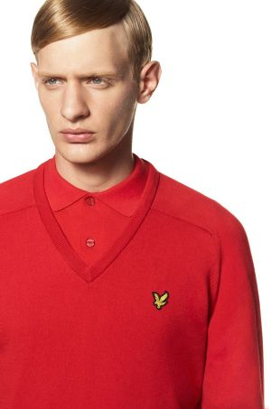 Lookbook image from Lyle & Scott's 1960 collection