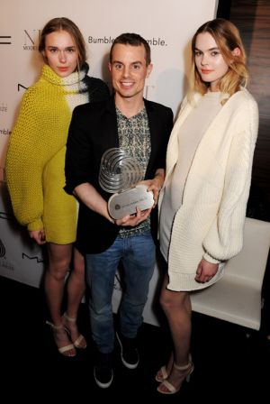 Lucky winner of the International Woolmark Prize: Christian Wijnants and his designs