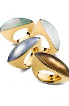 Luxury is growning. (Vhernier rings)