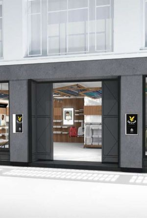 Lyle & Scott will open a flagship in London.