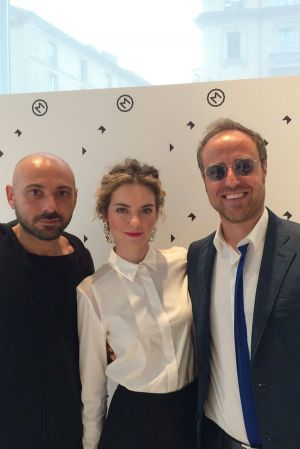 M COLLECTIVE Owners (From Left): Cristian Milla, Anna Casiraghi, Antonino Rindone