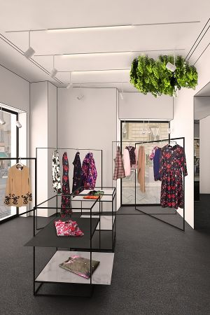 MSGM mono-brand store in Milan