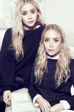 Mary Kate & Ashley Olsen, nominated as womenswear designer of the year (photo: IG)