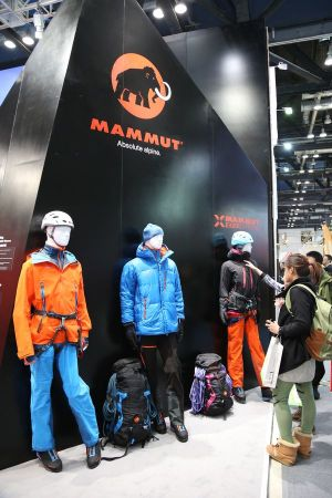 Mammut at Ispo Beijing