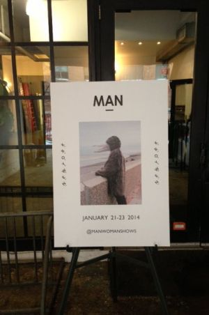Man show poster