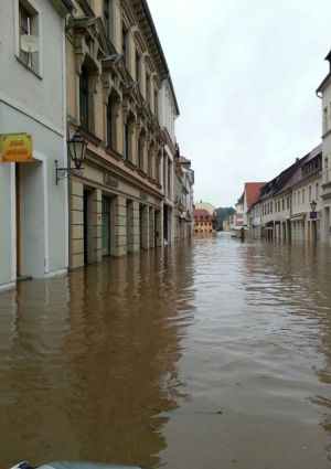 Many Retailers are affected by the big flood