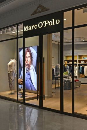 Marc O'polo retail space in Shanghai