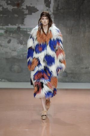 Marni's design spotted during the fashion week