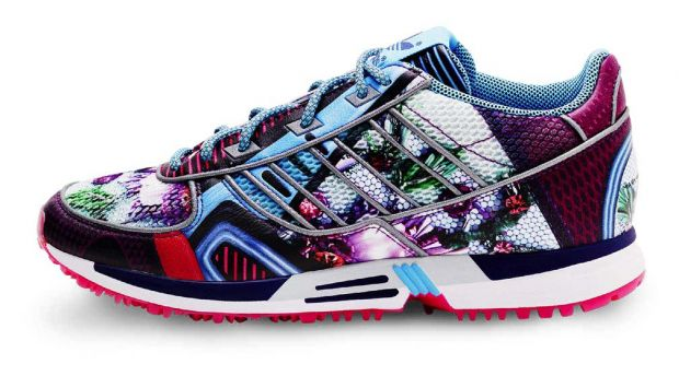 Mary Katrantzou x Adidas Originals sneakers
