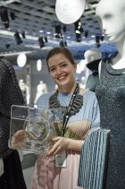 Matilda Norberg, Pitti Filati 'Feel the Yarn' winner