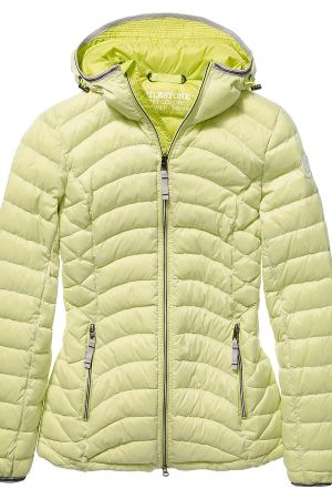 Milestone down jacket yellow