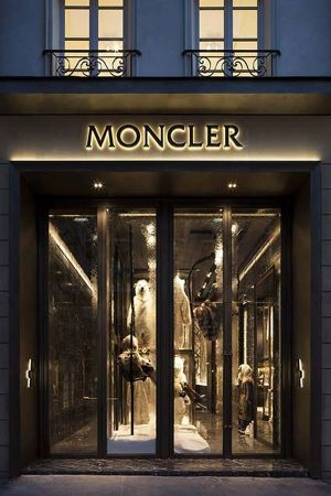 Moncler store in Paris