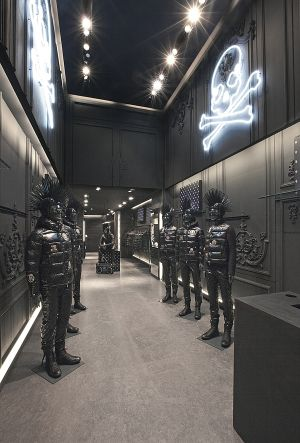 Moncler temporary store