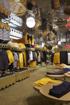 Monki store concept Sea of Scallops (London)