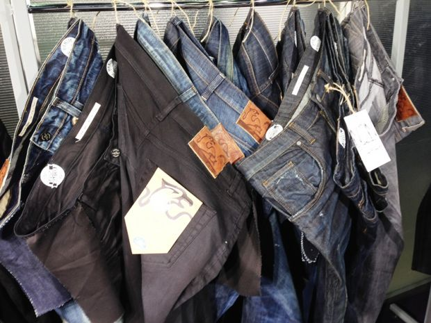 Montebello denim stand
