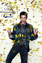 MotoGP champion Marc Marquez in the anniversary GAS campaign
