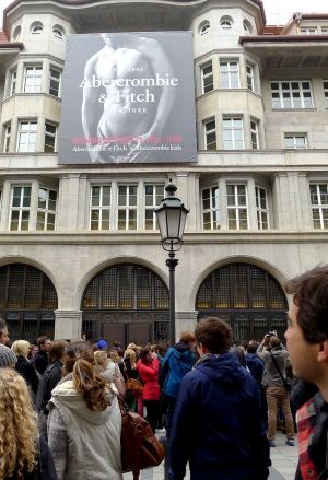Munich's new Abercrombie & Fitch store
