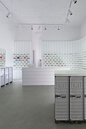 Mykita's 8th store worldwide.