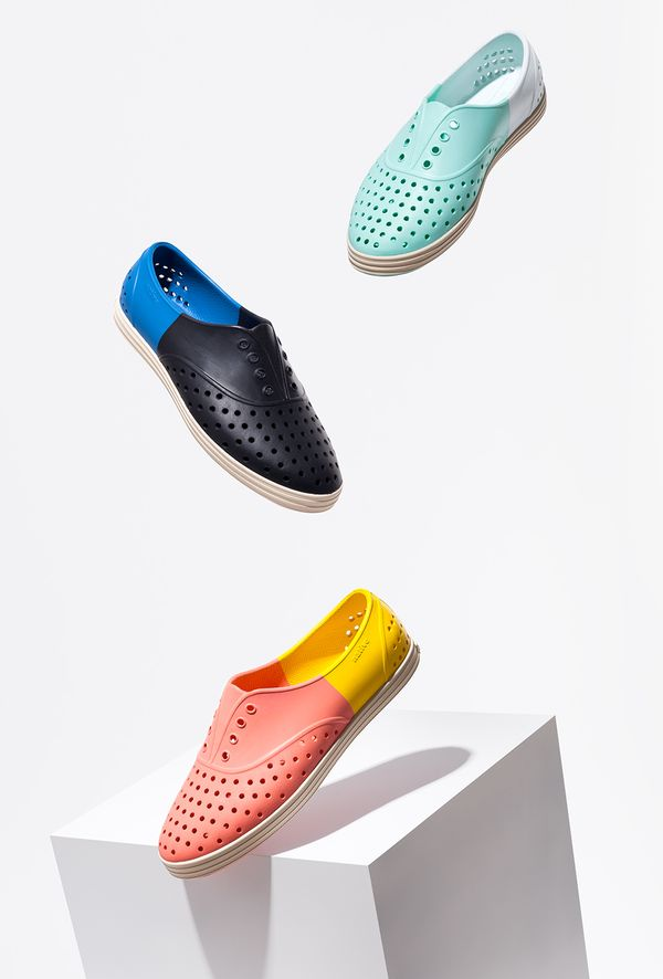 Native Shoes x Issey Miyake shoes