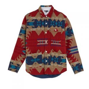 Navajo-patterned shirt from the Levi's California collection